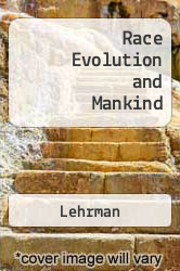 Cover of Race Evolution and Mankind  (ISBN 978-0465059843)