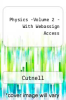 Physics  -Volume 2 - With Webassign Access by Cutnell - ISBN 9780470081648