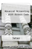 Advanced Accounting - With Access Code by Jeter - ISBN 9780470181621