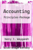 Accounting Principles-Package by Jerry J. Weygandt - ISBN 9780470184844