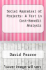 cover of Social Appraisal of Projects: A Text in Cost-Benefit Analysis