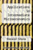 cover of Applications in Intermediate Microeconomics