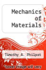 cover of Mechanics of Materials