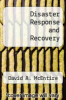 cover of Disaster Response and Recovery (2nd edition)