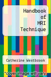 Handbook of MRI Technique by Catherine Westbrook - ISBN 9780470674628
