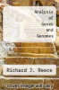 cover of Analysis of Genes and Genomes (2nd edition)