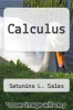 cover of Calculus