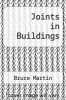 cover of Joints in Buildings