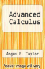 cover of Advanced Calculus (2nd edition)