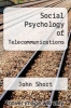 cover of Social Psychology of Telecommunications