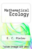 cover of Mathematical Ecology (2nd edition)