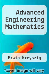 Cover of Advanced Engineering Mathematics 4 (ISBN 978-0471021407)