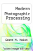 cover of Modern Photographic Processing