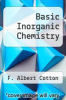 cover of Basic Inorganic Chemistry (2nd edition)