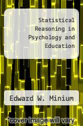Cover of Statistical Reasoning in Psychology and Education 2 (ISBN 978-0471040552)