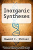 cover of Inorganic Syntheses