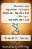cover of Steroids and Peptides: Selected Chemical Aspects for Biology, Biochemistry and Medicine