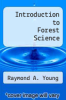 cover of Introduction to Forest Science