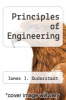 cover of Principles of Engineering