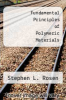 cover of Fundamental Principles of Polymeric Materials