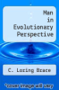 cover of Man in Evolutionary Perspective ( edition)