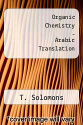 Cover of Organic Chemistry - Arabic Translation 2 (ISBN 978-0471098409)