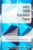 cover of 2001 FASB Current Text (1st edition)