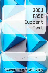 Cover of 2001 FASB Current Text 1 (ISBN 978-0471152194)