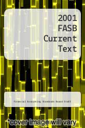Cover of 2001 FASB Current Text 1 (ISBN 978-0471152200)