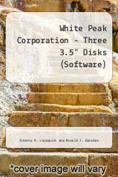 "Cover of White Peak Corporation - Three 3.5"" Disks (Software) 97 (ISBN 978-0471171317)"