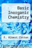 cover of Basic Inorganic Chemistry