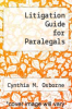 cover of Litigation Guide for Paralegals (2nd edition)
