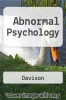 cover of Abnormal Psychology (2nd edition)