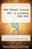 cover of FARS Network Version 2001 to accompany FASB 2001 (1st edition)