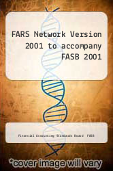 Cover of FARS Network Version 2001 to accompany FASB 2001 1 (ISBN 978-0471207801)