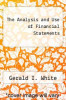 cover of The Analysis and Use of Financial Statements (3rd edition)