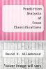 cover of Prediction Analysis of Cross Classifications