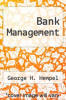 cover of Bank Management