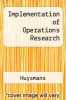cover of Implementation of Operations Research ( edition)