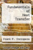 cover of Fundamentals of Heat Transfer