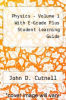Physics - Volume 1 With E-Grade Plus Student Learning Guide by John D. Cutnell - ISBN 9780471470489