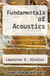 Cover of Fundamentals of Acoustics 2 (ISBN 978-0471480495)