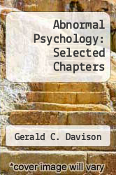 Cover of Abnormal Psychology: Selected Chapters EDITIONDESC (ISBN 978-0471482369)
