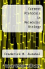 cover of Current Protocols in Molecular Biology (1st edition)