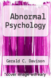 Cover of Abnormal Psychology 5 (ISBN 978-0471518570)