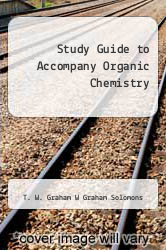Cover of Study Guide to Accompany Organic Chemistry 5 (ISBN 978-0471547419)