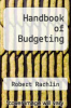 cover of Handbook of Budgeting (3rd edition)