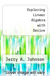 Cover of Exploring Linear Algebra with Derive 94 (ISBN 978-0471591948)