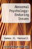cover of Abnormal Psychology: Enduring Issues