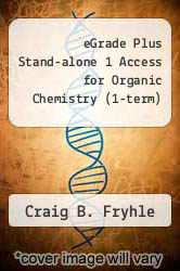 Cover of eGrade Plus Stand-alone 1 Access for Organic Chemistry (1-term) 8 (ISBN 978-0471718901)